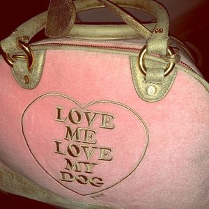 Juicy couture dog bag